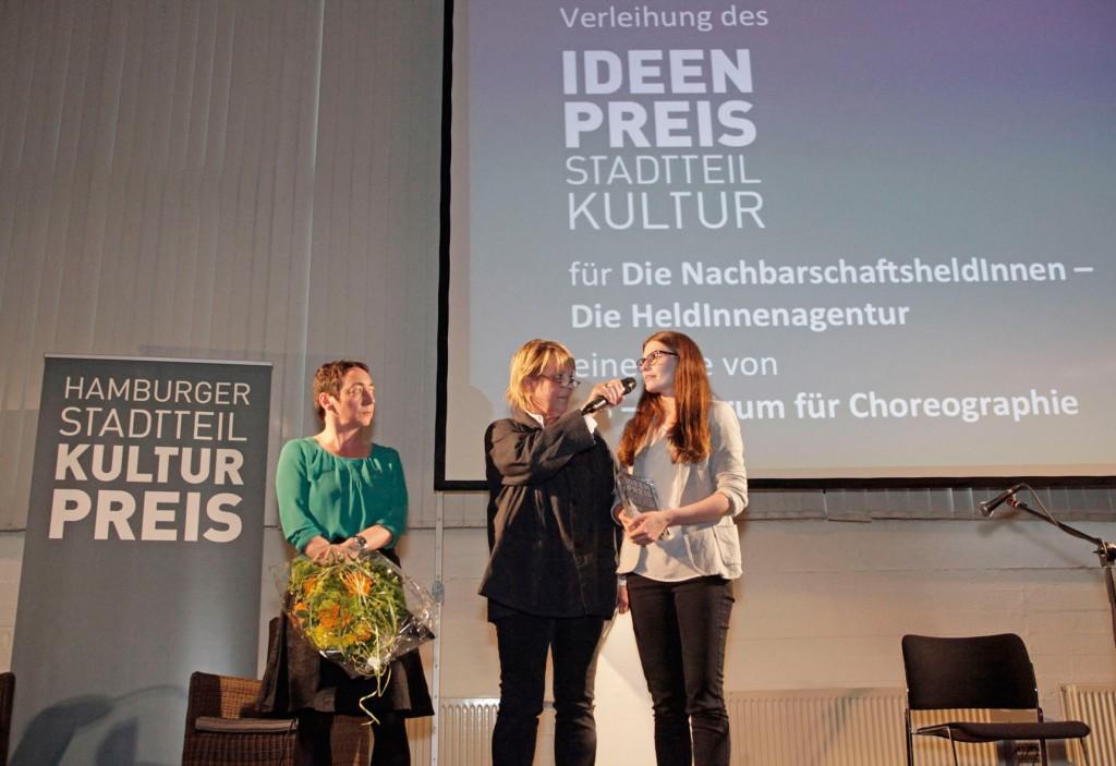 Preisträger Ideenpreis Stadtteilkultur 2014: Die NachbarschaftsheldInnen – die HeldInnenagentur, Foto: Kirsten Haarmann/kh-fotografie.com