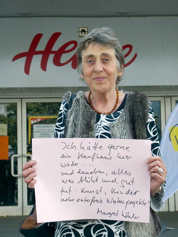 "Projekt ""Hertie – Im Blickfeld, Foto: DG Reiss"""