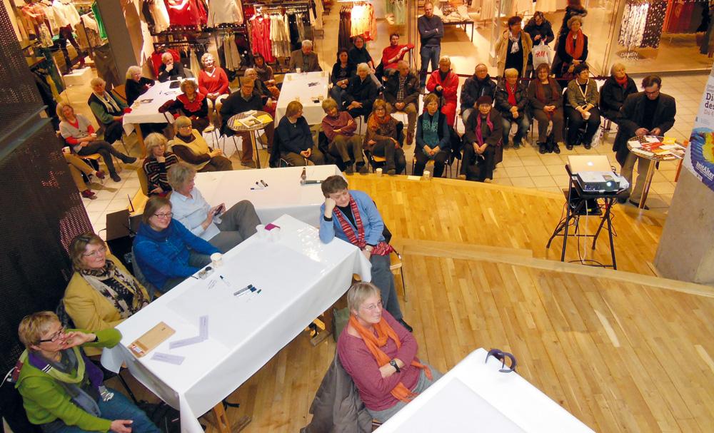 """zeitAlter-Veranstaltung im Mercado: """"Die Vielfalt des Alters"""", Foto: zeitAlter"""