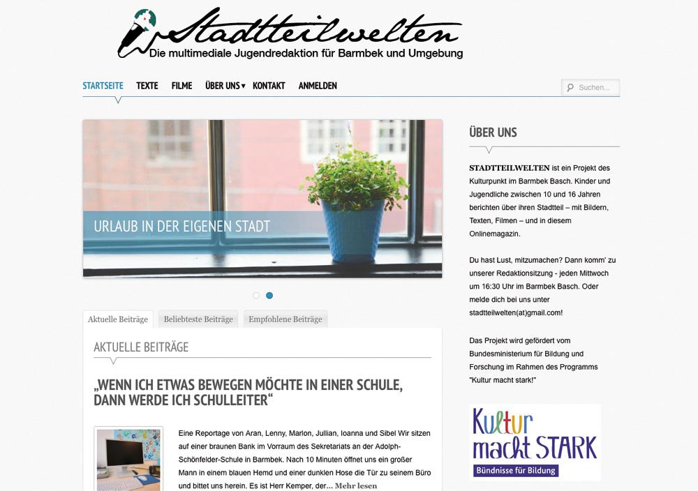 Screenshot: Kulturpunkt im Barmbek°Basch