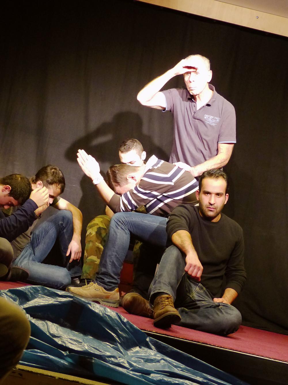 Werkstattaufführung der Theatergruppe Kaleidoskop, Foto: Ulrike Krogmann