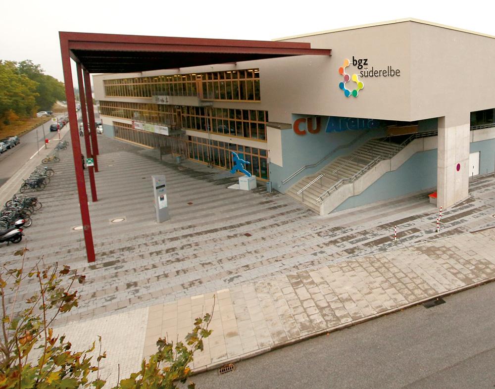 Das Kulturhaus Süderelbe im BGZ Süderelbe
