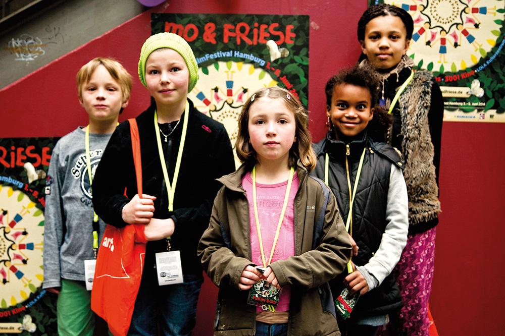Die Kinder der Friese-Jury 2014, Foto: Annika Börm