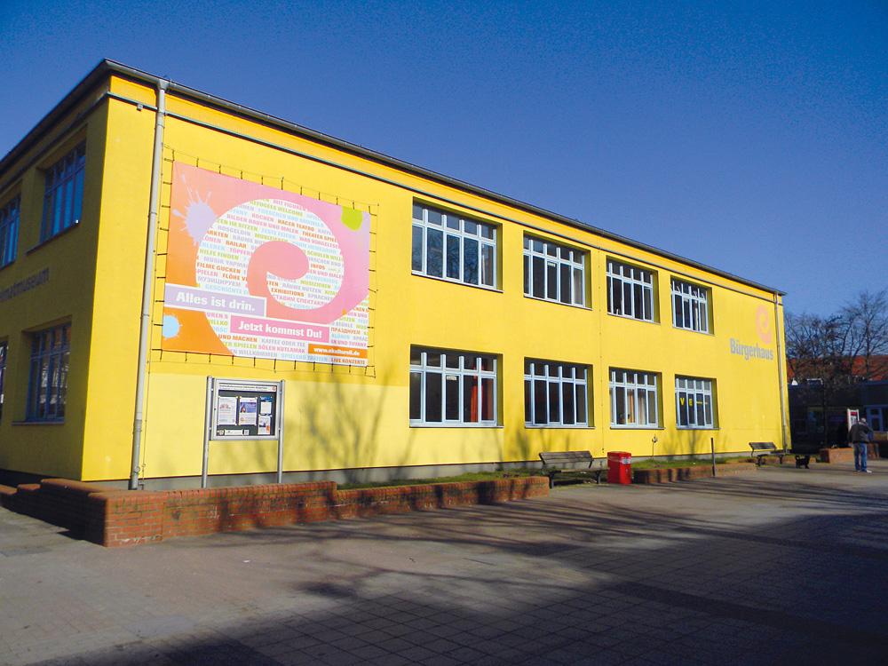 Der funktionale Charme eines ehemaligen Schulgebäudes, Foto: Eidelstedter Bürgerhaus