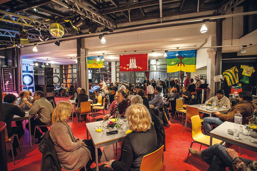 """Viel Platz zum Feiern im Kulturhof Dulsberg z.B. beim nordafrikanischen Neujahrsfest """"Yennayer"""", Foto: Duffé"""