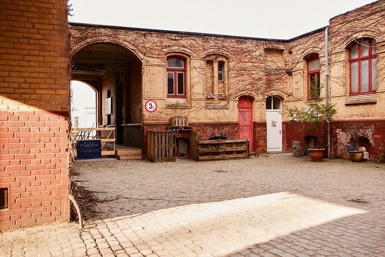 Hof der Schaltzentrale, Foto: Laura Léglise