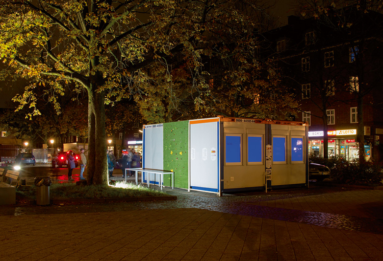 The Dulsbox by night, Foto: Martin Streit