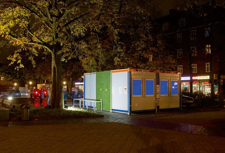 The Dulsbox by night, Foto: Martin Streit