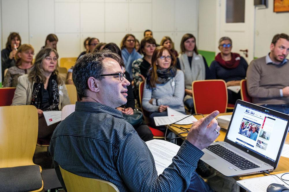 Klaus Irler von STADTKULTUR HAMBURG über Fake News, Foto: Miguel Ferraz