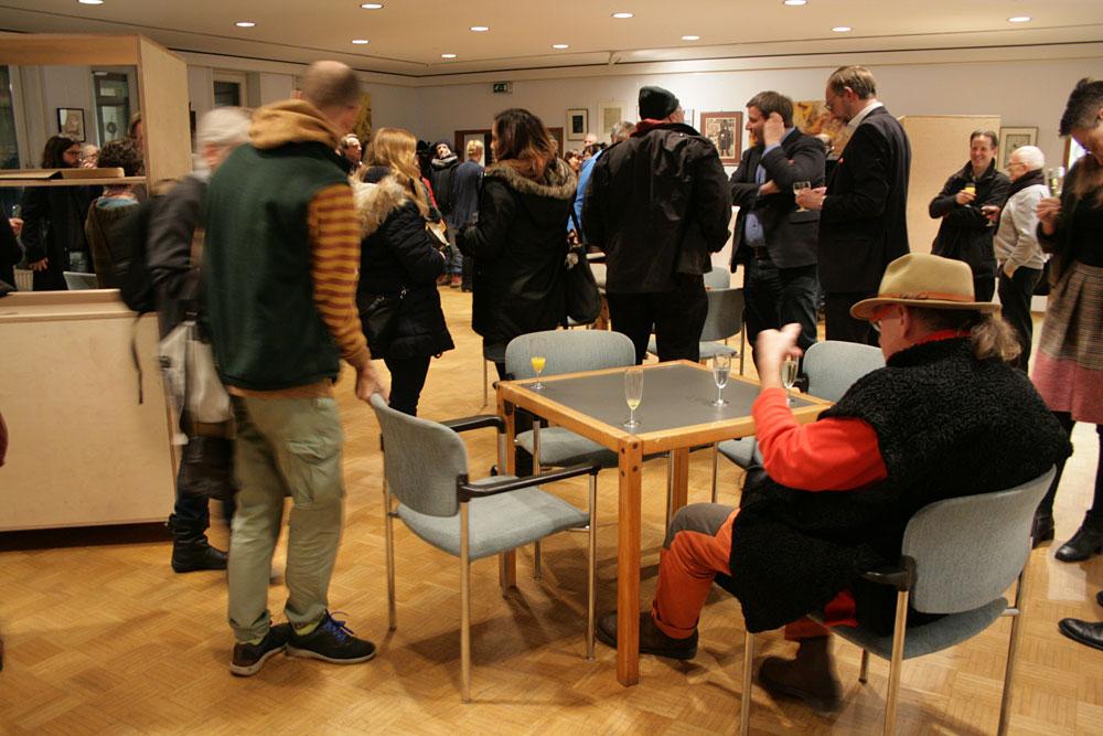 Einweihung der Kunstleihe in der 3falt, Foto: Sonja Alphonso