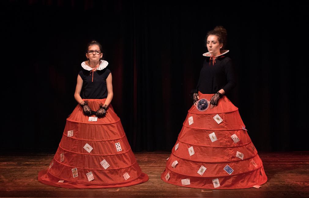 Zwei Herzköniginnen, Foto: Antje Sauer