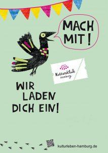 Plakat: KulturLeben Hamburg
