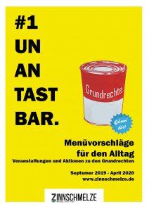 Plakat: Zinnschmelze